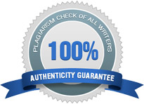 100% Authenticity Guarantee. Plagiarism Check of ALL writers